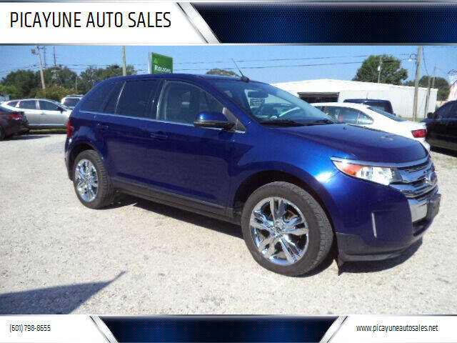 2013 Ford Edge for sale at PICAYUNE AUTO SALES in Picayune MS