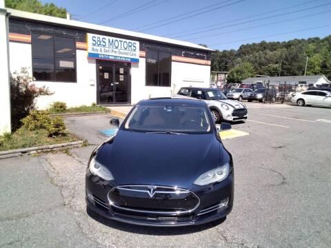 2014 Tesla Model S for sale at S & S Motors in Marietta GA