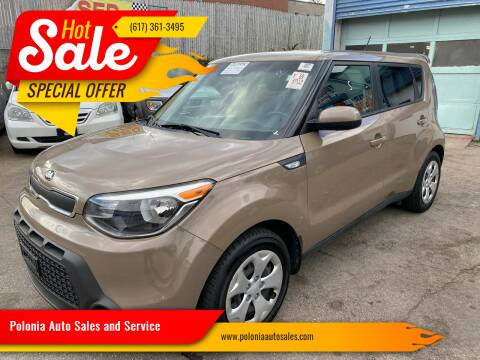 2014 Kia Soul for sale at Polonia Auto Sales and Service in Hyde Park MA