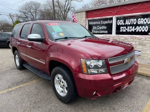 2010 Chevrolet Tahoe for sale at GOL Auto Group in Austin TX