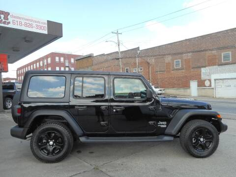 2019 Jeep Wrangler Unlimited for sale at River City Auto Center LLC in Chester IL
