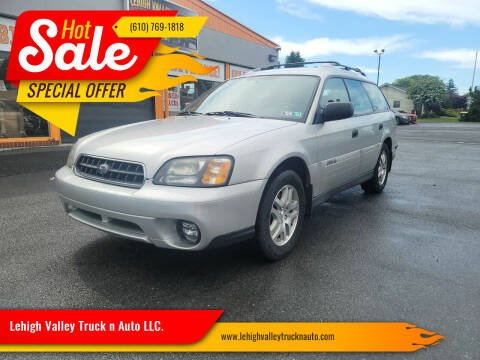 2004 Subaru Outback for sale at Lehigh Valley Truck n Auto LLC. in Schnecksville PA