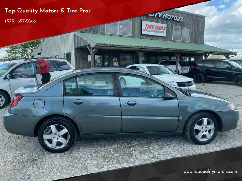 2007 Saturn Ion for sale at Top Quality Motors & Tire Pros in Ashland MO