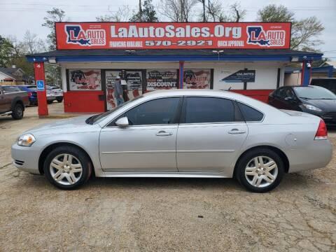 2016 Chevrolet Impala Limited for sale at LA Auto Sales in Monroe LA