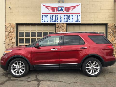 2013 Ford Explorer for sale at LV Auto Sales & Repair, LLC in Yakima WA
