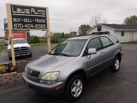 2002 Lexus RX 300 for sale at LEWIS AUTO in Mountain Home AR