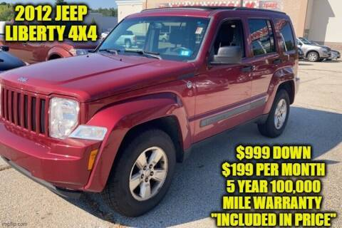 2012 Jeep Liberty for sale at D&D Auto Sales, LLC in Rowley MA