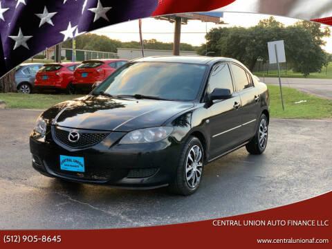 2006 Mazda MAZDA3 for sale at Central Union Auto Finance LLC in Austin TX