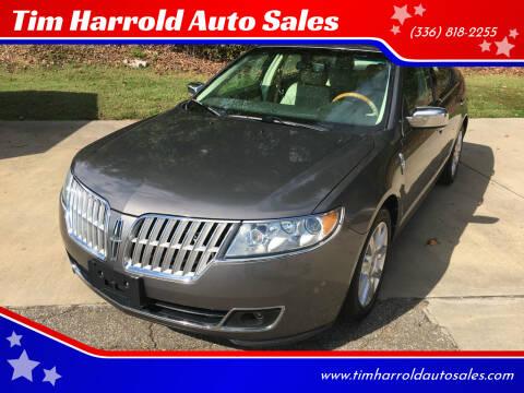 2012 Lincoln MKZ for sale at Tim Harrold Auto Sales in Wilkesboro NC