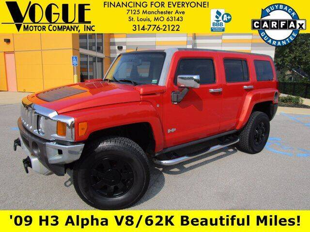 2009 HUMMER H3 for sale at Vogue Motor Company Inc in Saint Louis MO