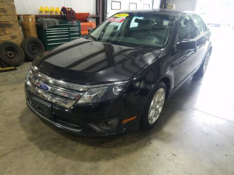 2011 Ford Fusion for sale at Hometown Automotive Service & Sales in Holliston MA