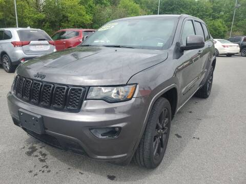 2018 Jeep Grand Cherokee for sale at Mulligan's Auto Exchange LLC in Paxinos PA