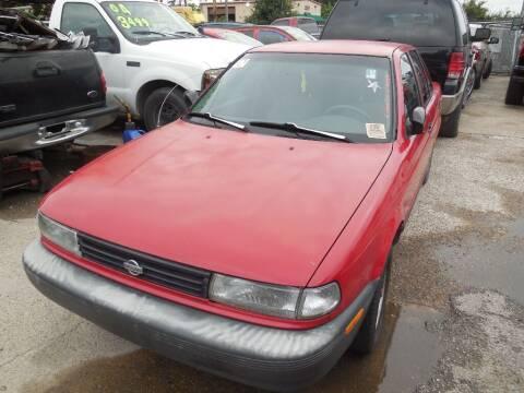 1992 Nissan Sentra for sale at SCOTT HARRISON MOTOR CO in Houston TX