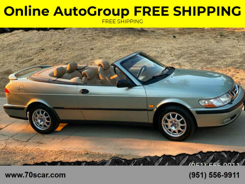 2000 Saab 9-3 for sale at Online AutoGroup FREE SHIPPING in Riverside CA