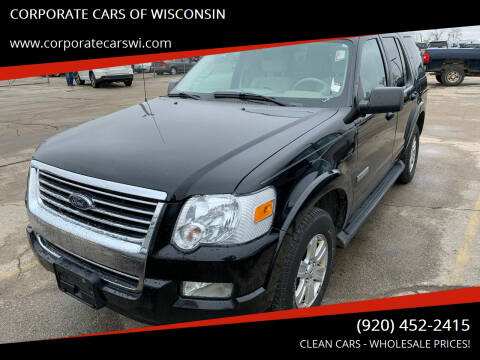 2008 Ford Explorer for sale at CORPORATE CARS OF WISCONSIN - DAVES AUTO SALES OF SHEBOYGAN in Sheboygan WI