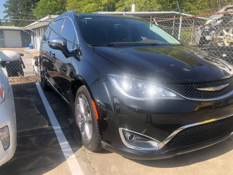 2017 Chrysler Pacifica for sale at A & K Auto Sales in Mauldin SC