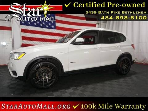2015 BMW X3 for sale at STAR AUTO MALL 512 in Bethlehem PA