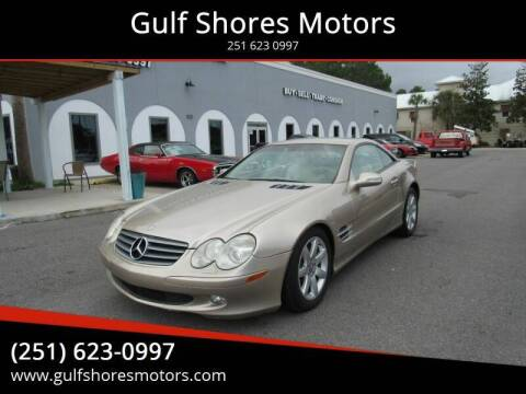 2003 Mercedes-Benz SL-Class for sale at Gulf Shores Motors in Gulf Shores AL