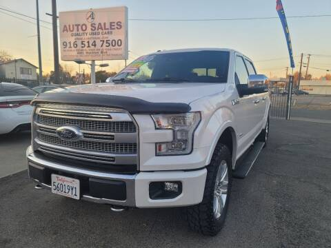 2016 Ford F-150 for sale at A1 Auto Sales in Sacramento CA