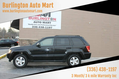 2007 Jeep Grand Cherokee for sale at Burlington Auto Mart in Burlington NC