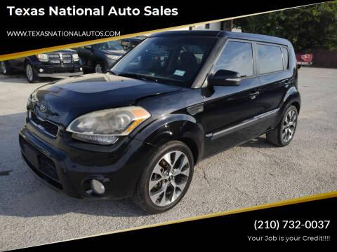 2013 Kia Soul for sale at Texas National Auto Sales in San Antonio TX
