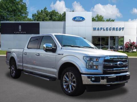 2017 Ford F-150 for sale at MAPLECREST FORD LINCOLN USED CARS in Vauxhall NJ