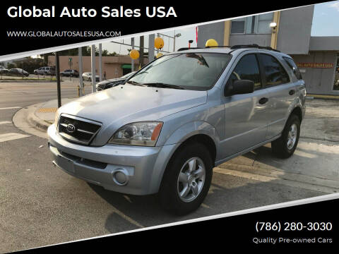 2006 Kia Sorento for sale at Global Auto Sales USA in Miami FL