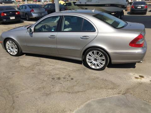 2008 Mercedes-Benz E-Class for sale at CONTINENTAL AUTO EXCHANGE in Lemoore CA