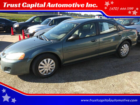 2006 Dodge Stratus for sale at Trust Capital Automotive Inc. in Covington GA