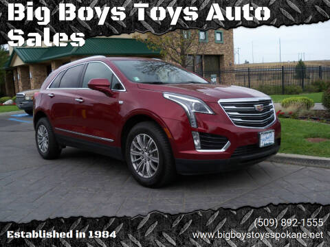 2017 Cadillac XT5 for sale at Big Boys Toys Auto Sales in Spokane Valley WA