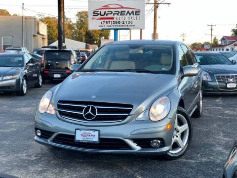 2010 Mercedes-Benz R-Class for sale at Supreme Auto Sales in Chesapeake VA