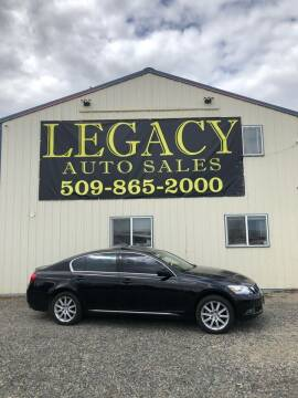2006 Lexus GS 300 for sale at Legacy Auto Sales in Toppenish WA