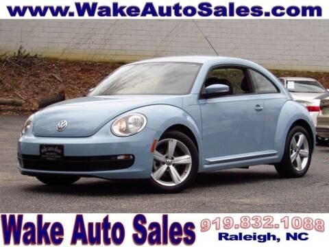 2014 Volkswagen Beetle for sale at Wake Auto Sales Inc in Raleigh NC