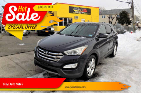 2013 Hyundai Santa Fe Sport for sale at GSM Auto Sales in Linden NJ
