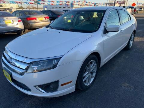 2012 Ford Fusion for sale at Rock Motors LLC in Victoria TX