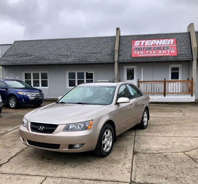 2006 Hyundai Sonata for sale at Stephen Motor Sales LLC in Caldwell OH