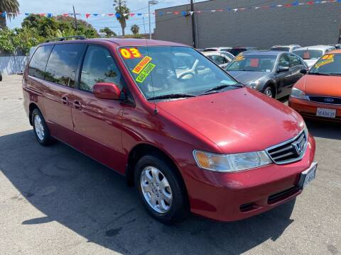 2003 Honda Odyssey for sale at North County Auto in Oceanside CA