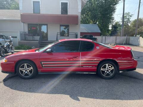 2004 Chevrolet Monte Carlo for sale at Imperial Group in Sioux Falls SD