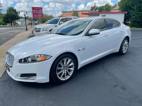 2015 Jaguar XF for sale at Deluxe Auto Sales Inc in Ludlow MA