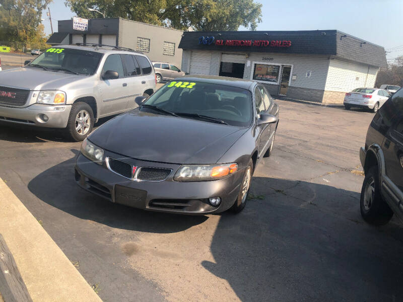 2003 Pontiac Bonneville for sale at D and D All American Financing in Warren MI