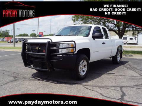 2010 Chevrolet Silverado 1500 for sale at Payday Motors in Wichita KS