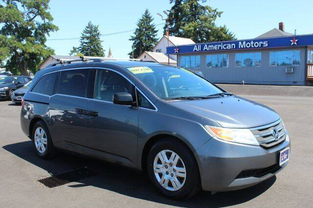 2011 Honda Odyssey for sale at All American Motors in Tacoma WA