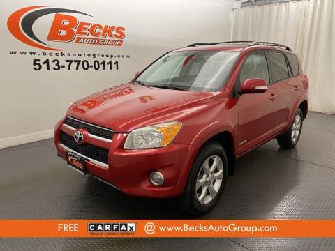 2009 Toyota RAV4 for sale at Becks Auto Group in Mason OH