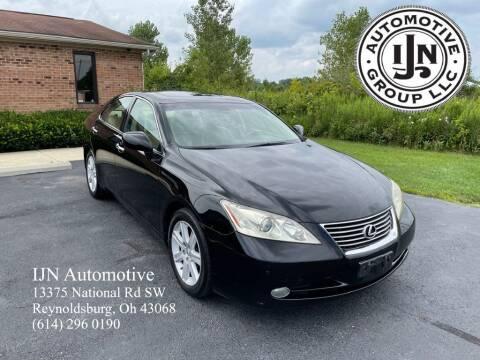 2007 Lexus ES 350 for sale at IJN Automotive Group LLC in Reynoldsburg OH