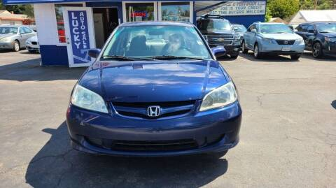 2004 Honda Civic for sale at Lucky Auto Sale in Hayward CA