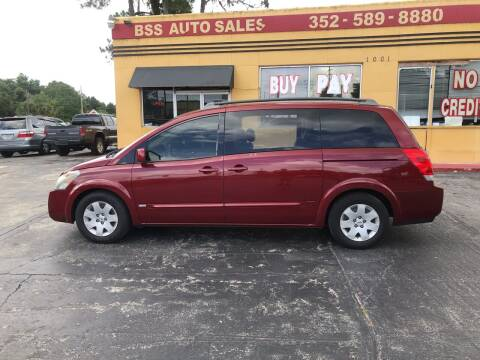 2006 Nissan Quest for sale at BSS AUTO SALES INC in Eustis FL