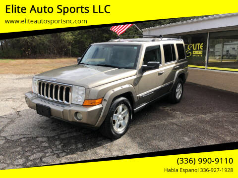 2006 Jeep Commander for sale at Elite Auto Sports LLC in Wilkesboro NC