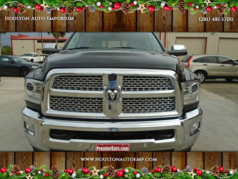 2016 RAM Ram Pickup 2500 for sale at Houston Auto Emporium in Houston TX