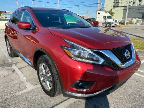 2018 Nissan Murano for sale at MIAMI AUTO LIQUIDATORS in Miami FL