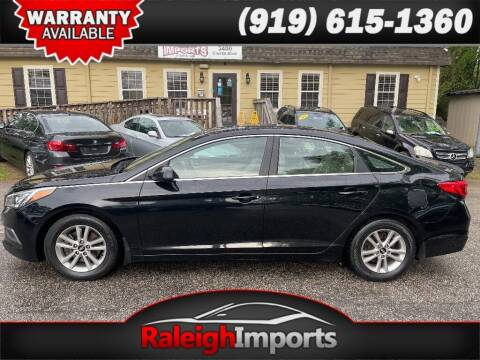 2016 Hyundai Sonata for sale at Raleigh Imports in Raleigh NC